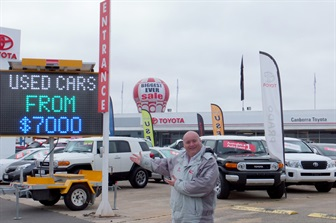 Why should I buy a used car from Canberra Toyota?