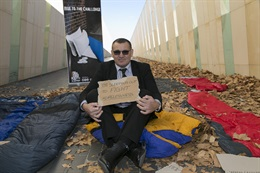Vinnes CEO Sleepout with Canberra Toyota