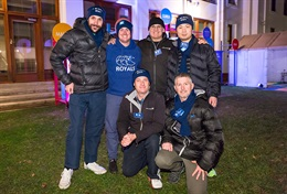 8th Vinnies CEO Sleepout with Canberra Toyota team