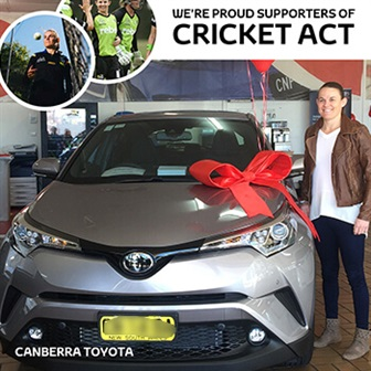 Thanks For The Support Canberra Toyota